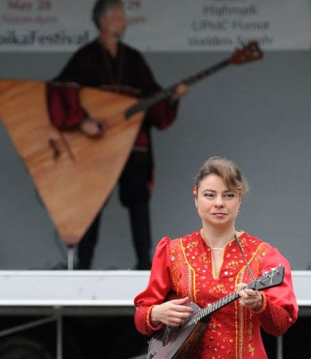 Elina Karokhina, Barynya, Erie, Pennsylvania, Troika Festival, Church of the Nativity