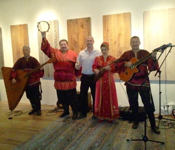 Ensemble Barynya tour in Florida, December 2010