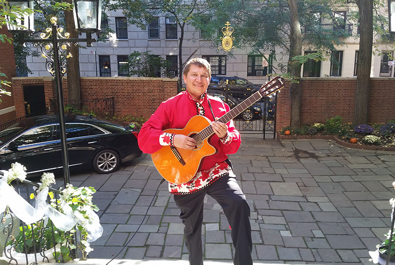 New York, NY, Russian-American wedding, Balalaika Duo, DJ, Synod of Bishops