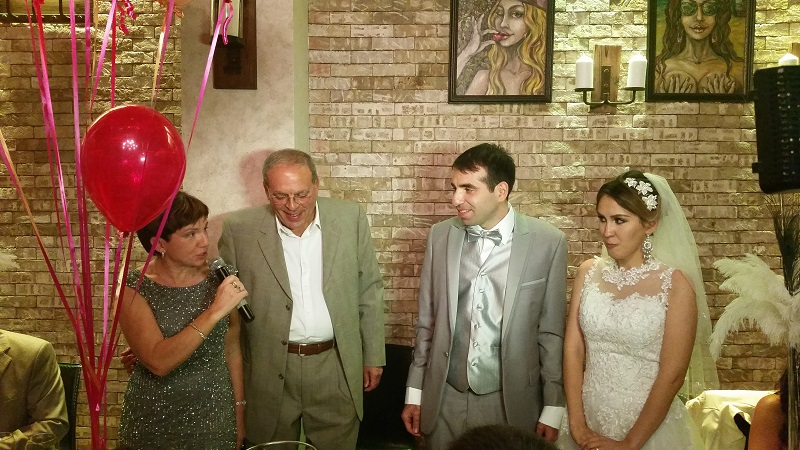 XO CREPERIE, Brooklyn, NY, Russian-American wedding, Master of Ceremony, MC, Tamada, New York