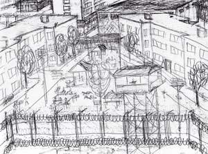 рисунок Льва Трахтенберга