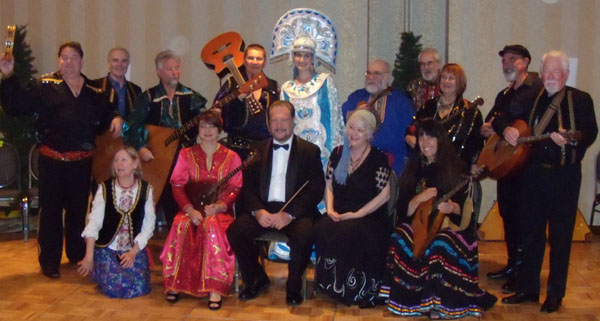 Balalaika and Domra Association of America conference in in Minneapolis, Minnesota