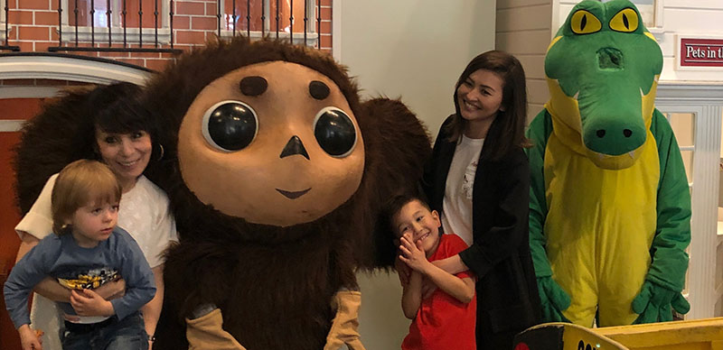 Cheburashka Krokodil Gena New Jersey, Чебурашка Крокодил Гена Нью-Джерси, Hudson's House of Play, 40 Riverwalk Plaza, West New York, NJ  07093