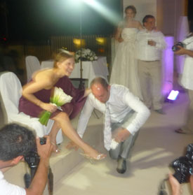 Russian wedding Cancun Mexico November 2011