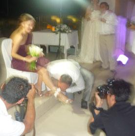 Русская свадьба в Канкуне, Мексика в ноябре 2011 года