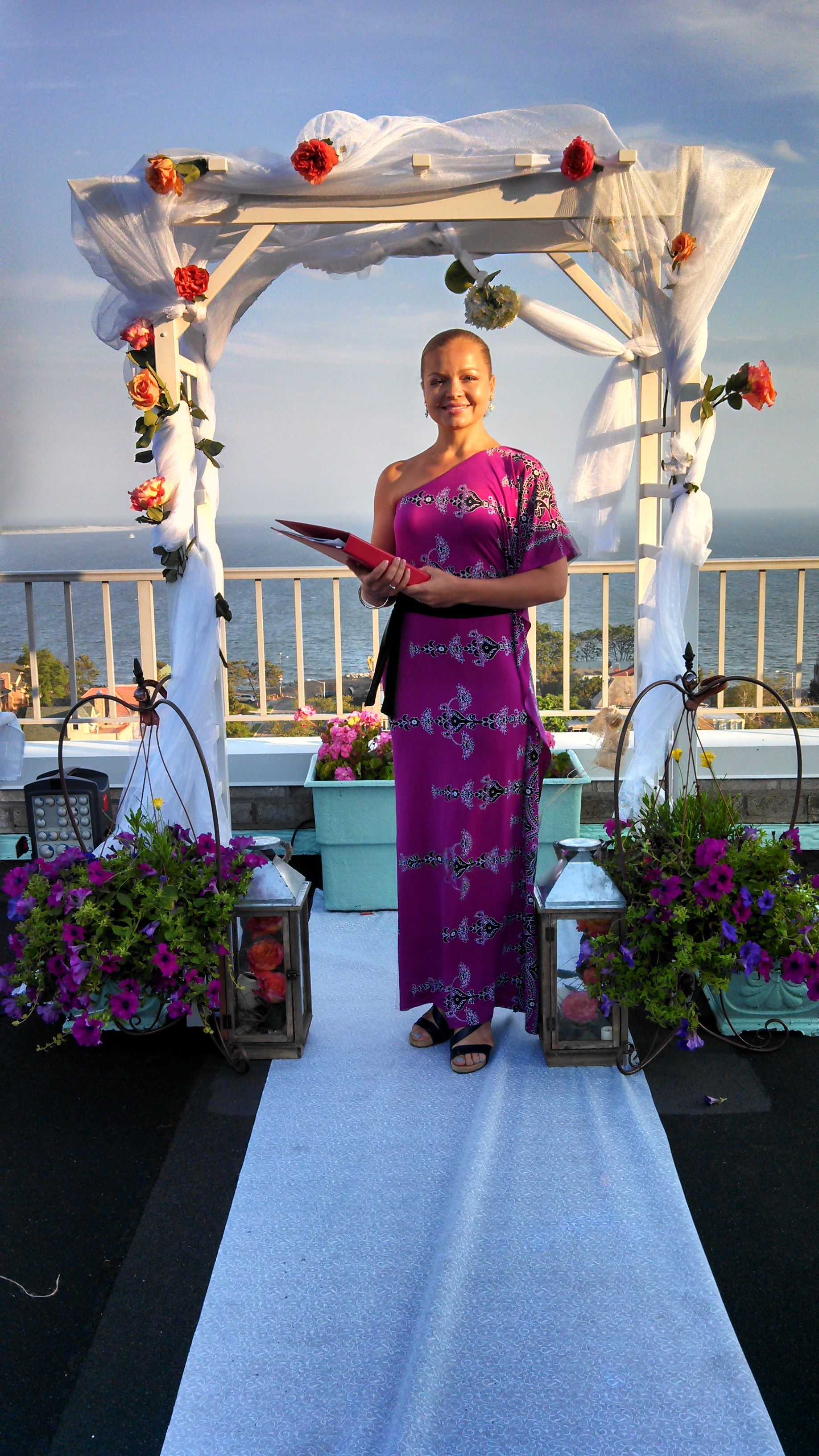 Russian Wedding Officiant Interfaith Minister Valentina New York City